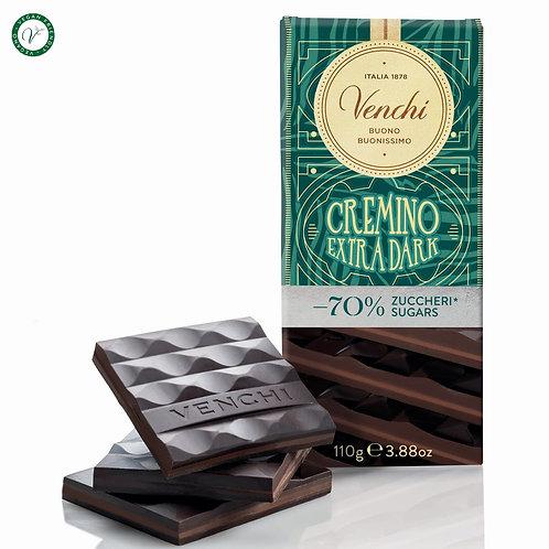 Pure Cremino chocoladereep -70% suiker - 24stuks