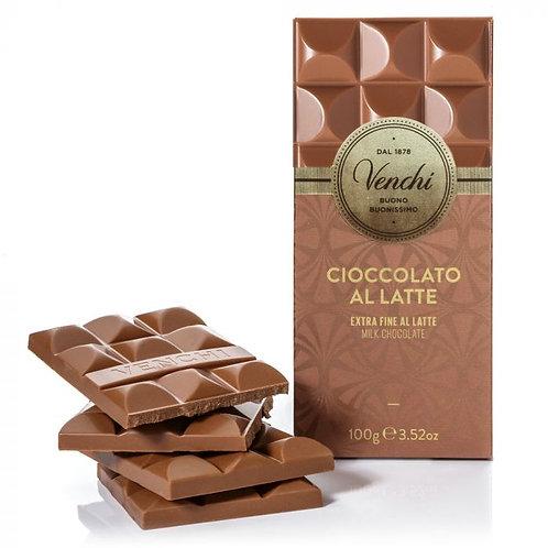 Venchi melkchocoladereep - 24stuks