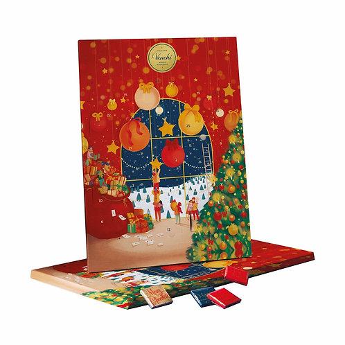 Venchi Adventskalender met chocolade - 8stuks