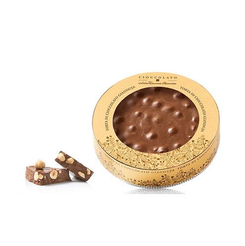 Gianduja chocoladetaart - 10stuks