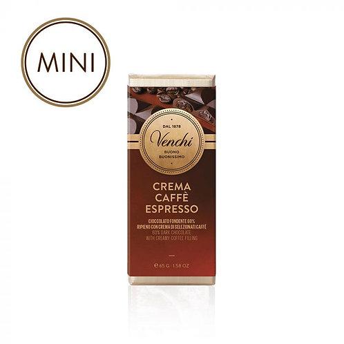 Venchi mini chocoladereep gevuld met koffie - 22stuks
