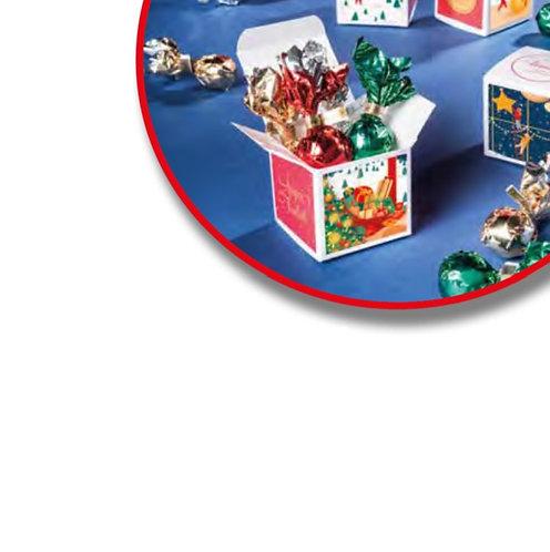Venchi lege kartonnen kubussen voor pralines - 20stuks