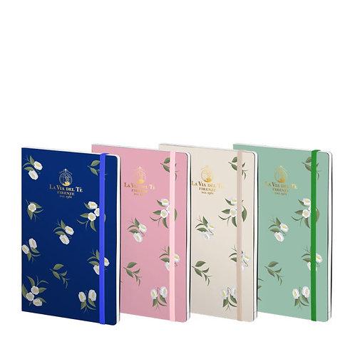 Camelia notebook in 4 kleuren - 1stuk