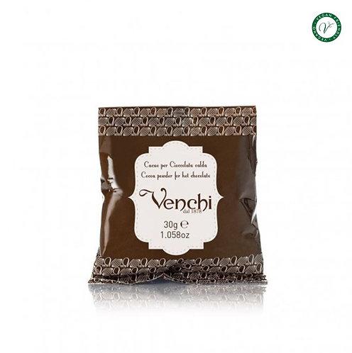Venchi cacaopoeder, single-dose - 28stuks