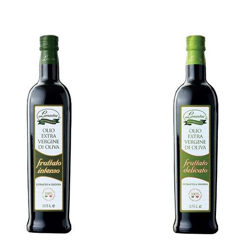 Linea Fruttato, fruitige extra vergine olijfolie, 750ml - 12stuks
