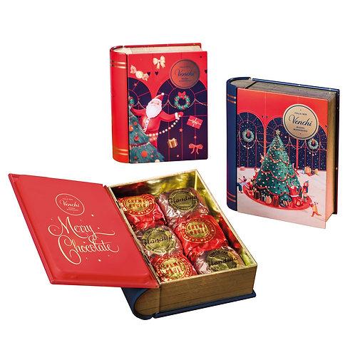 Venchi Winter mini boekje met chocolade - 16stuks