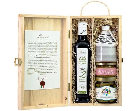 Hersluitbare kist met delicatessen2 - 1stuk