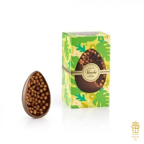 Mignon melkchocolade en hazelnoot paasei - 12stuks