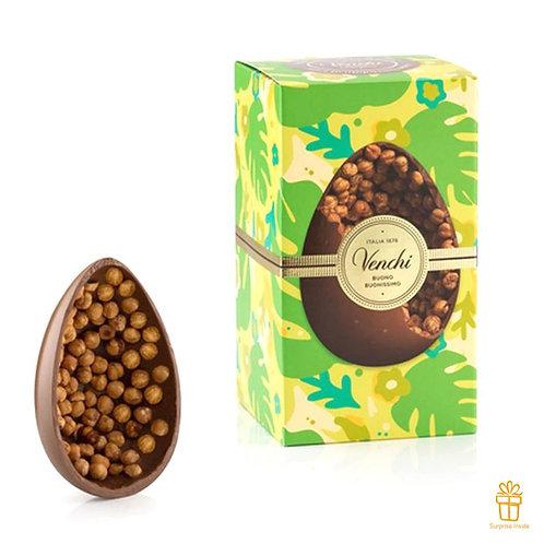 Gourmet melkchocolade eieren met hazelnoten - 1stuk