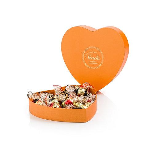 Venchi Garden heart gift box - 8stuks