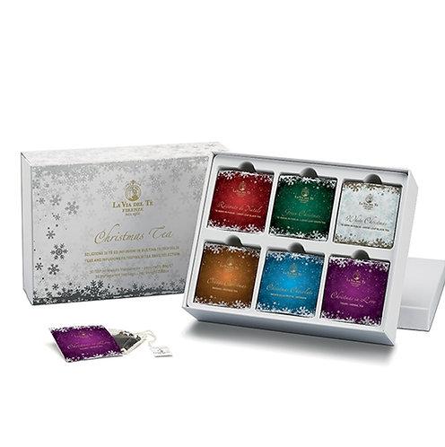 Christmas Tea Silver, geschenkdoos met theezakjes - 2stuks