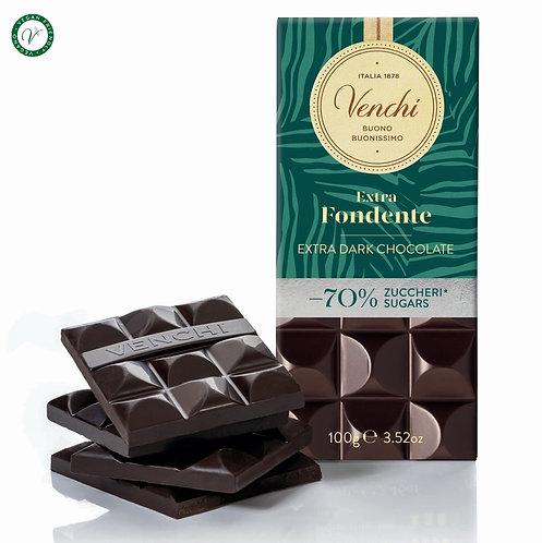 Pure chocoladereep -70% suiker - 24stuks