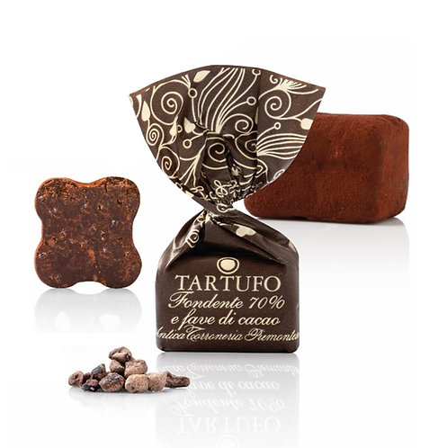 Fondente 70% met stukjes cacaoboon - 1kg