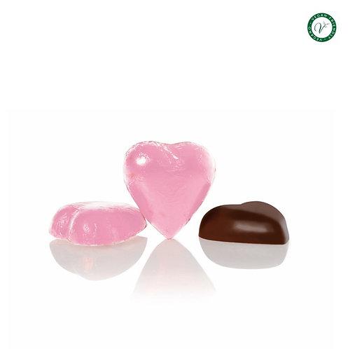 Chocoladehartje van pure chocolade - 1kg