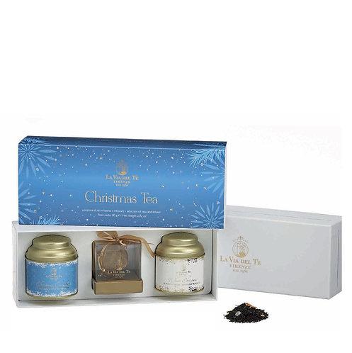Christmas Tea Azzurra, geschenkdoos met blikjes thee - 2stuks