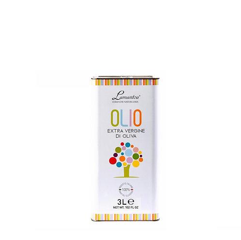 Extra vergine olijfolie in grootverpakking, 3 liter - 5stuks
