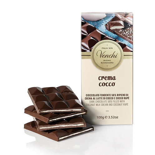 Venchi kokos chocoladereep - 24stuks