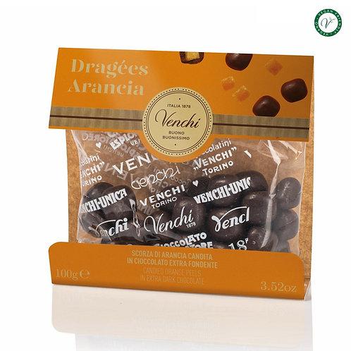 Dragées gekonfijte sinaasappelschillen  - 12stuks