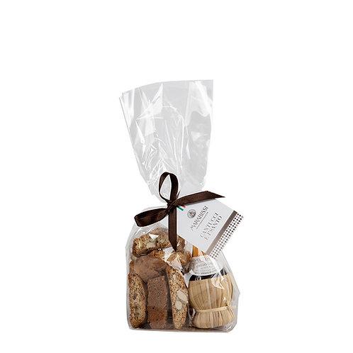Il Santo in Chianti-kruikje e Cantucci - 10stuks