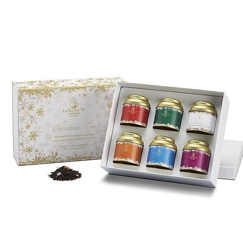 Christmas Tea Gold, geschenkdoos met blikjes thee - 2stuks