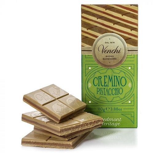 Venchi Cremino pistache chocoladereep - 24stuks