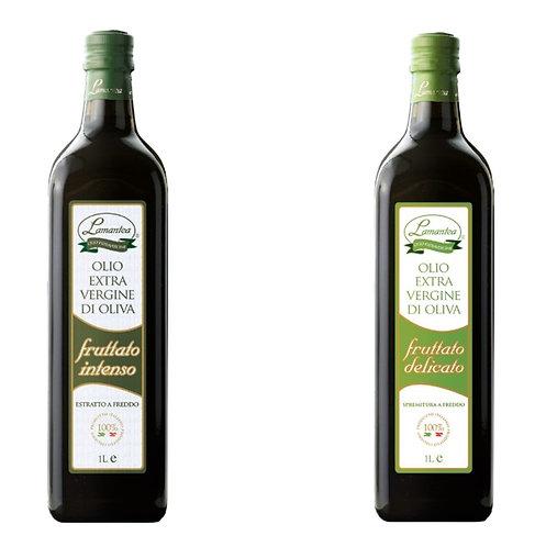 Linea Fruttato, fruitige extra vergine olijfolie, 1l - 12stuks