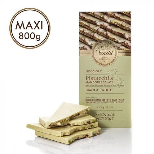 Maxi witte chocoladereep - 1stuk