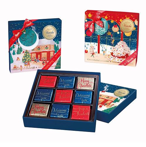 Venchi Winter geschenkdoos met kerstnapolitains - 10stuks