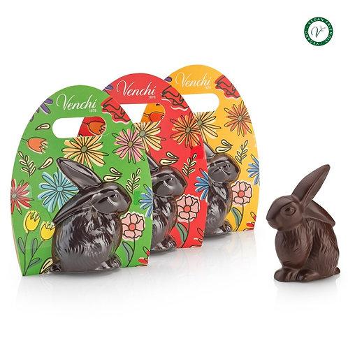 Paaskonijntje van pure chocolade - 16stuks