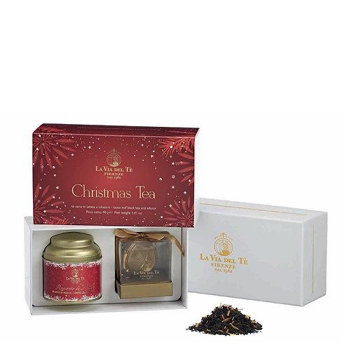 Christmas Tea Rossa, geschenkdoos met blikje thee - 3stuks