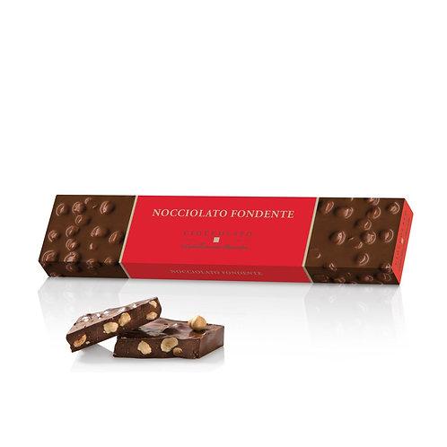 Pure chocoladereep met hazelnoten - 10stuks