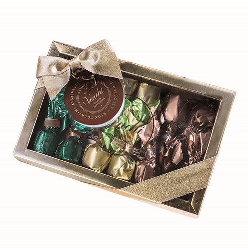 Geschenkdoos met chocoladetruffels - 10stuks