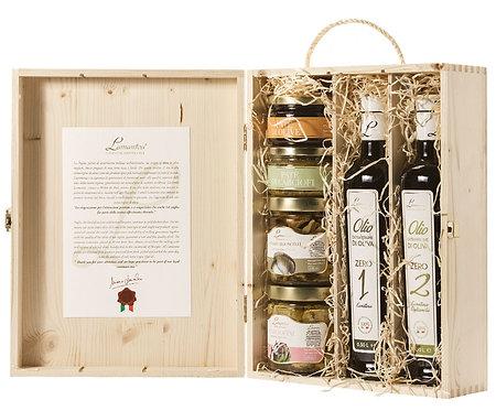Hersluitbare kist met delicatessen4 - 1stuk