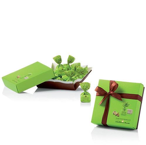 Tartufi Colori, chocoladetruffels Pistache - 6stuks