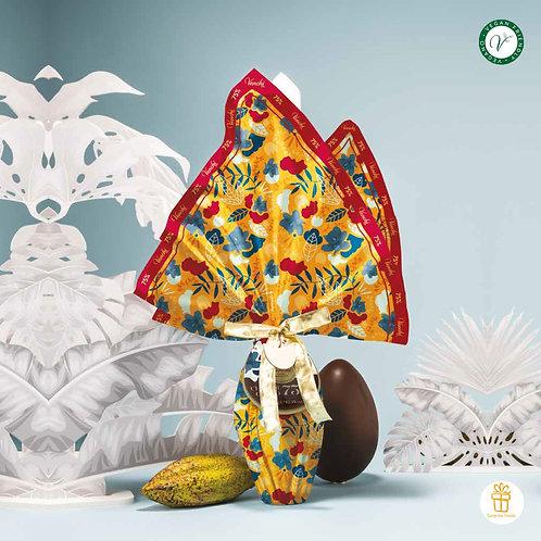 75% Cuor di Cacoa puur chocolade paasei - 4stuks