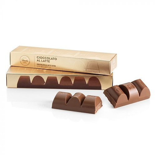 Venchi melkchocolade blok - 12stuks