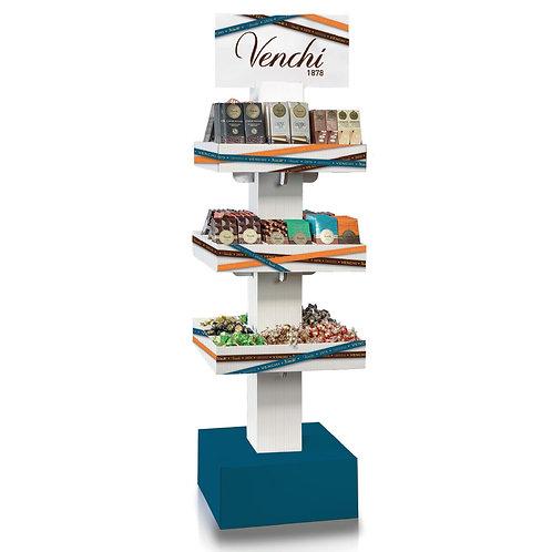 Presentatie display met 3 verdiepingen - 1stuk
