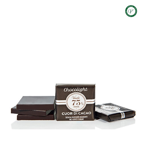 Granblend Chocolight puur, Cuor di Cacao 75% - 1kg