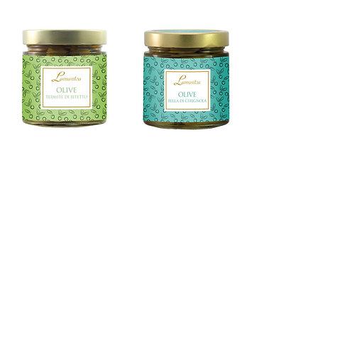 Olijven uit Puglia - 6stuks