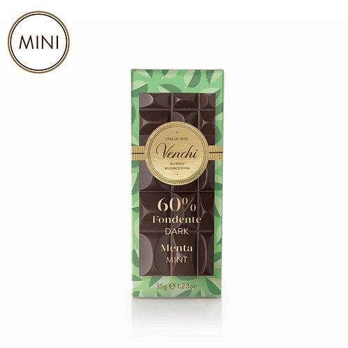 Minireep pure chocolade en munt - 32stuks