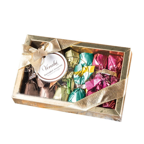 Venchi Truffle in golden box - 10stuks