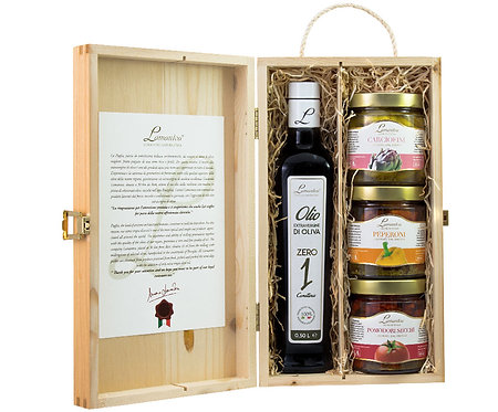 Hersluitbare kist met delicatessen1 - 1stuk