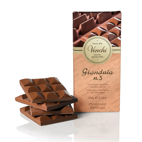 Venchi gianduja N.3 chocoladereep - 24stuks