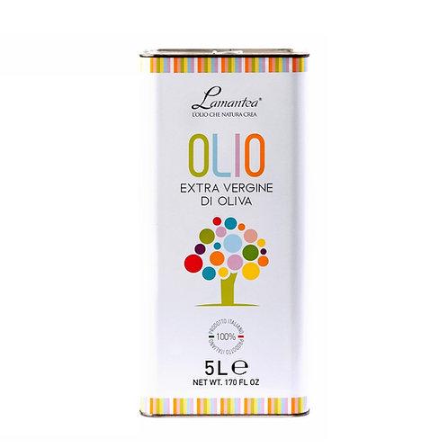 Extra vergine olijfolie in grootverpakking, 5 liter - 4stuks