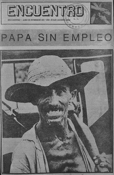 Portada de la revista Ecuentro año 1984. Archivo General de la Nación. RD