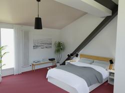 2.5 Zimmer Wohung Schlafzimmer