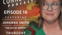 Hear me talk about improv and puppets!