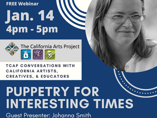 California Arts Project Workshop - download flyer for info.