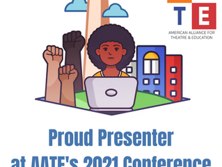 Join me at the AATE conference