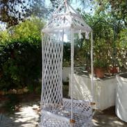 Swing in front garden
